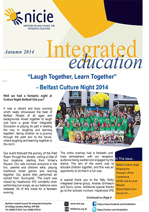 NICIE Newsletter Autumn 2014 O FINAL