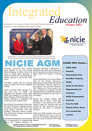 NICIE Newsletter – Winter 2013