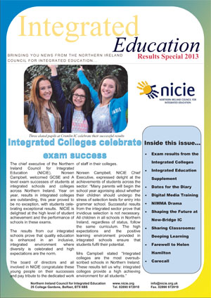 NICIE Newsletter – Exam Results Special