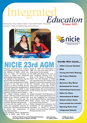 NICIE Newsletter – Winter