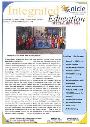 NICIE Newsletter- IIEW2014 Special