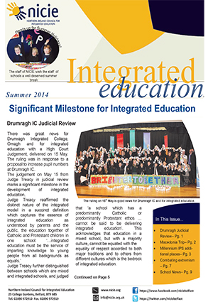 NICIE Summer Newsletter 2014-O