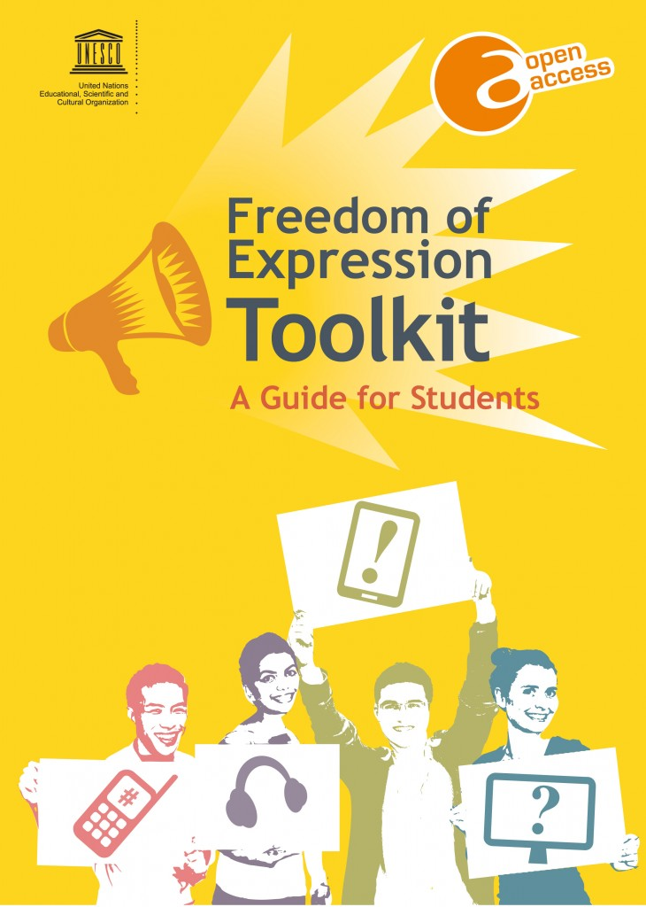 Freedom of expression toolkit: a guide for students; 2013